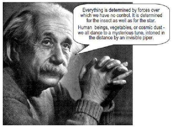 Einstein knew ...